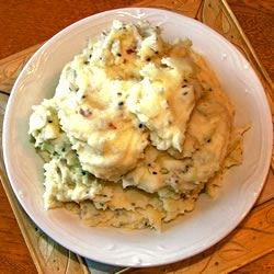 Garlic Mashed Potatoes Recipe.