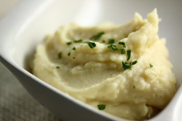 Dinner With Julia: Garlic Mashed Potatoes.