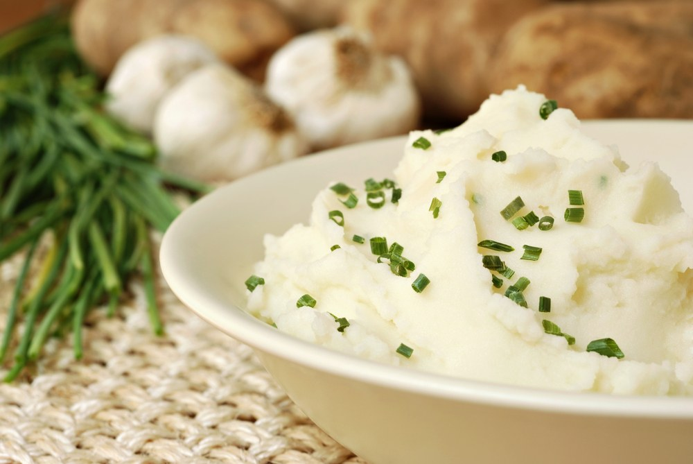 Garlic Mashed Potatoes with Chives recipe.