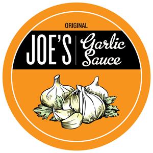 Joe's Garlic Sauce.