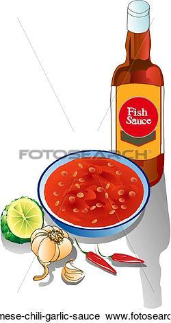 Clipart of Vietnamese Chili.