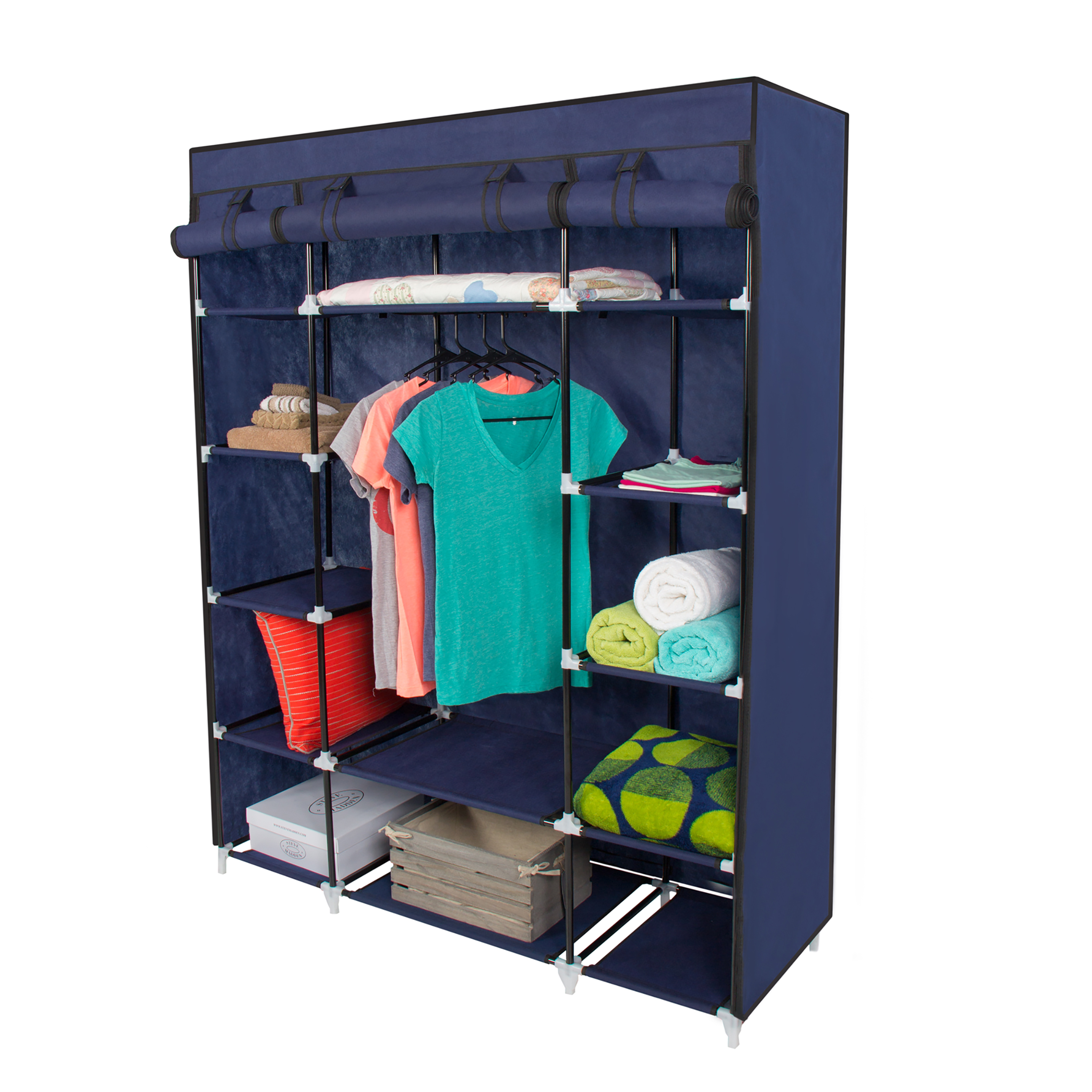 Clothing Rack On Wheels Clip Art.