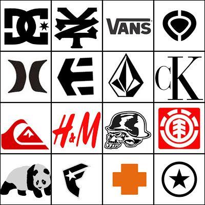 Clothing Logos.