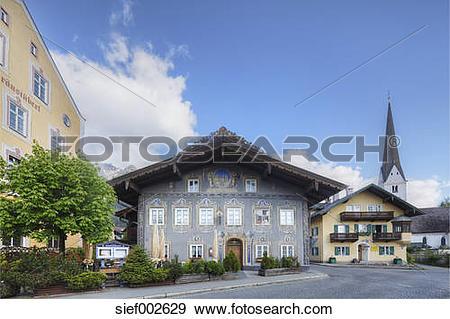 Stock Photograph of Germany, Bavaria, Garmisch.