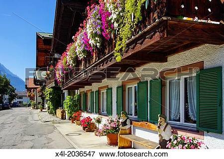 Picture of Germany, Bavaria, Upper Bavaria, Werdenfels, Garmisch.