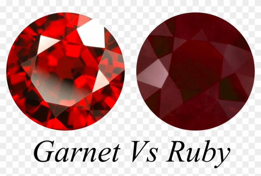 Red Garnet Vs Ruby Gemstone.