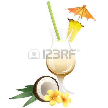 925 Garnish Drink Stock Vector Illustration And Royalty Free.