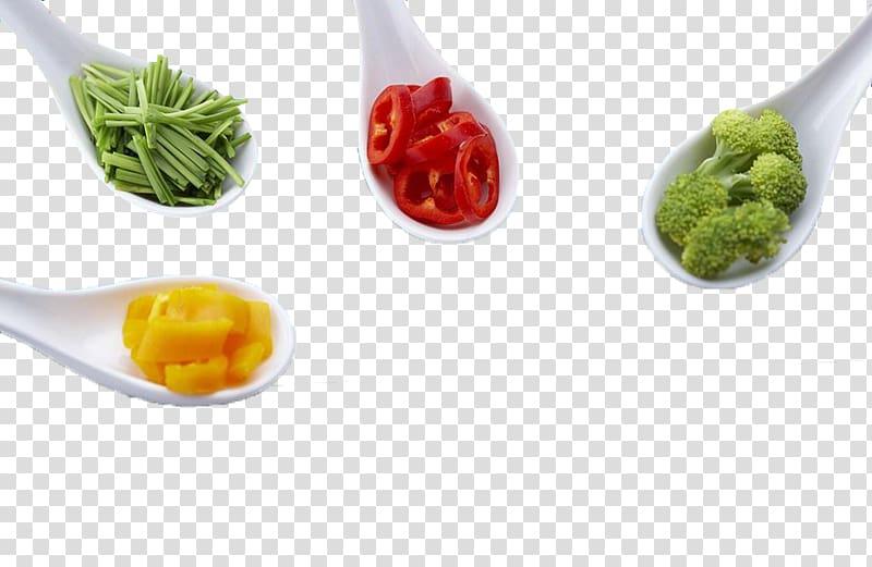 Leaf vegetable Garnish Condiment Chili pepper, Seasoning vegetables.