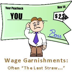 Stop Wage Garnishment.