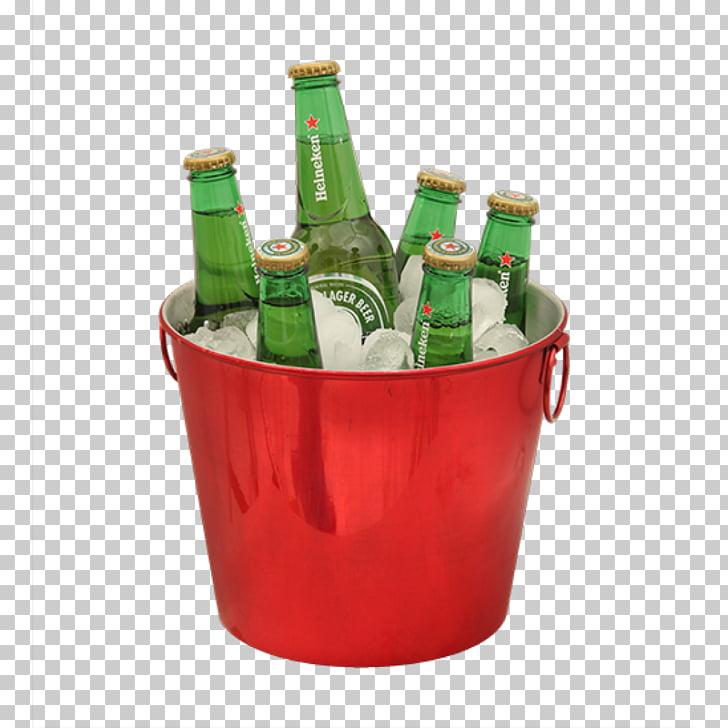 Beer Bucket Mug Glass Handle, garrafa cerveja PNG clipart.