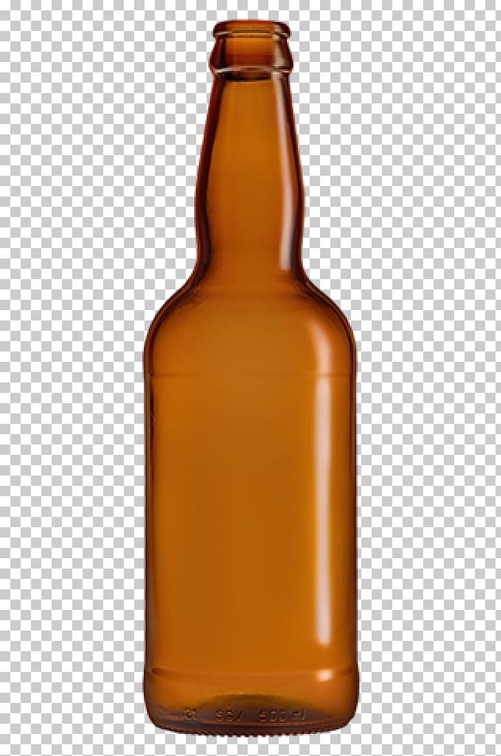 Glass bottle Beer bottle Caramel color, garrafa cerveja PNG.