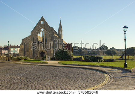 Garrison Church Stock Images, Royalty.