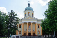 St. Stanislaus Garrison Church In Radom Stock Photo.