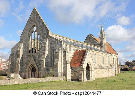 Picture of Royal Garrison Church (Domus Dei) first built in 1212.
