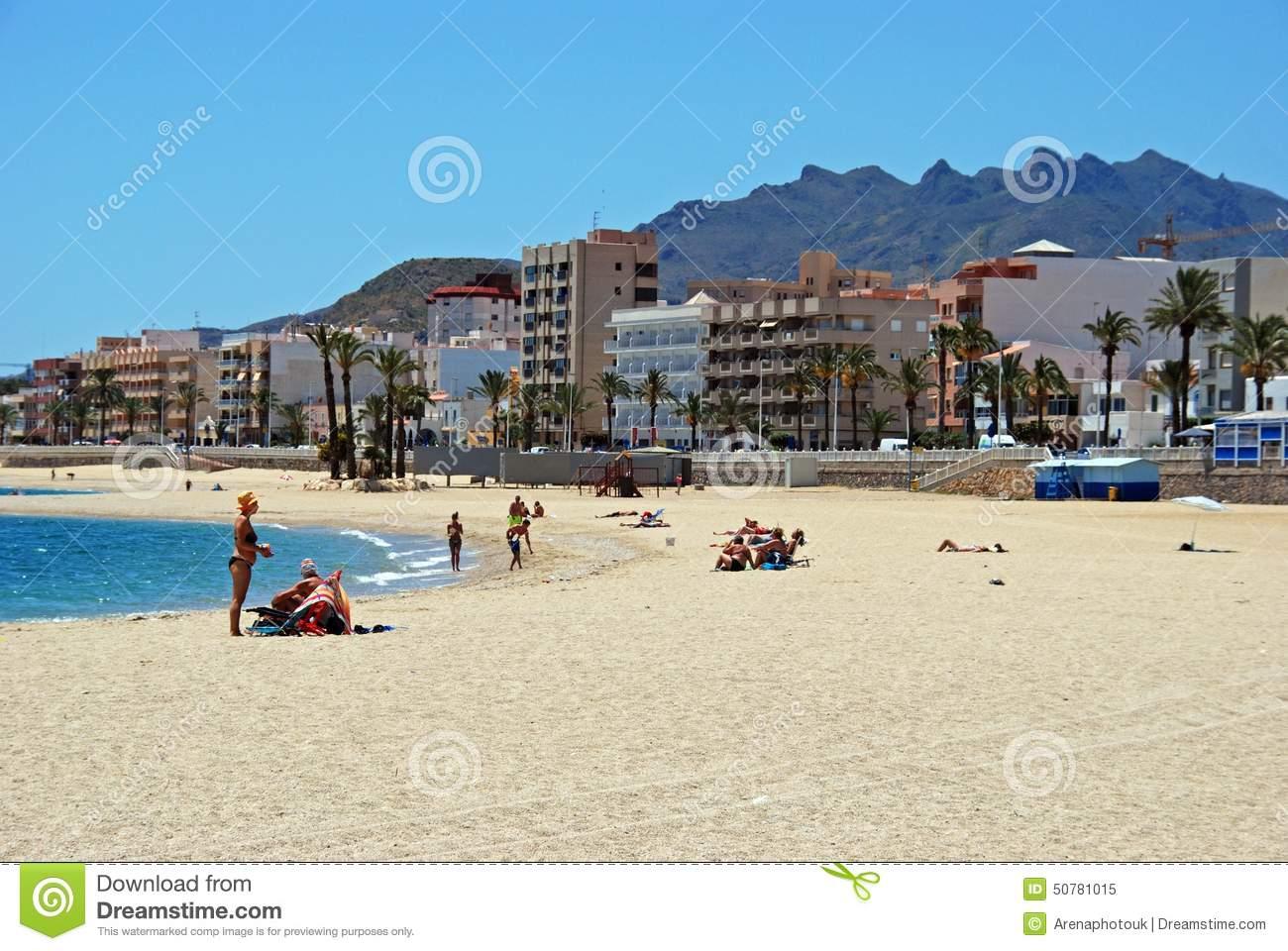 Garrucha Beach. Editorial Image.