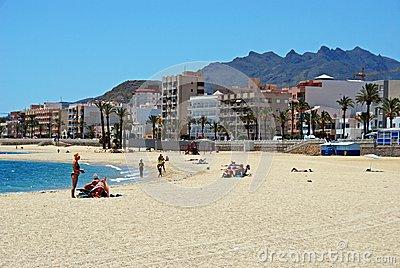 Garrucha Beach. Editorial Photo.