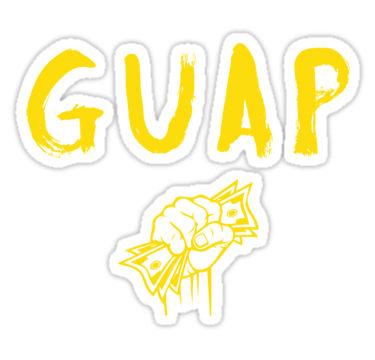 "GUAP"" Stickers by Garta."