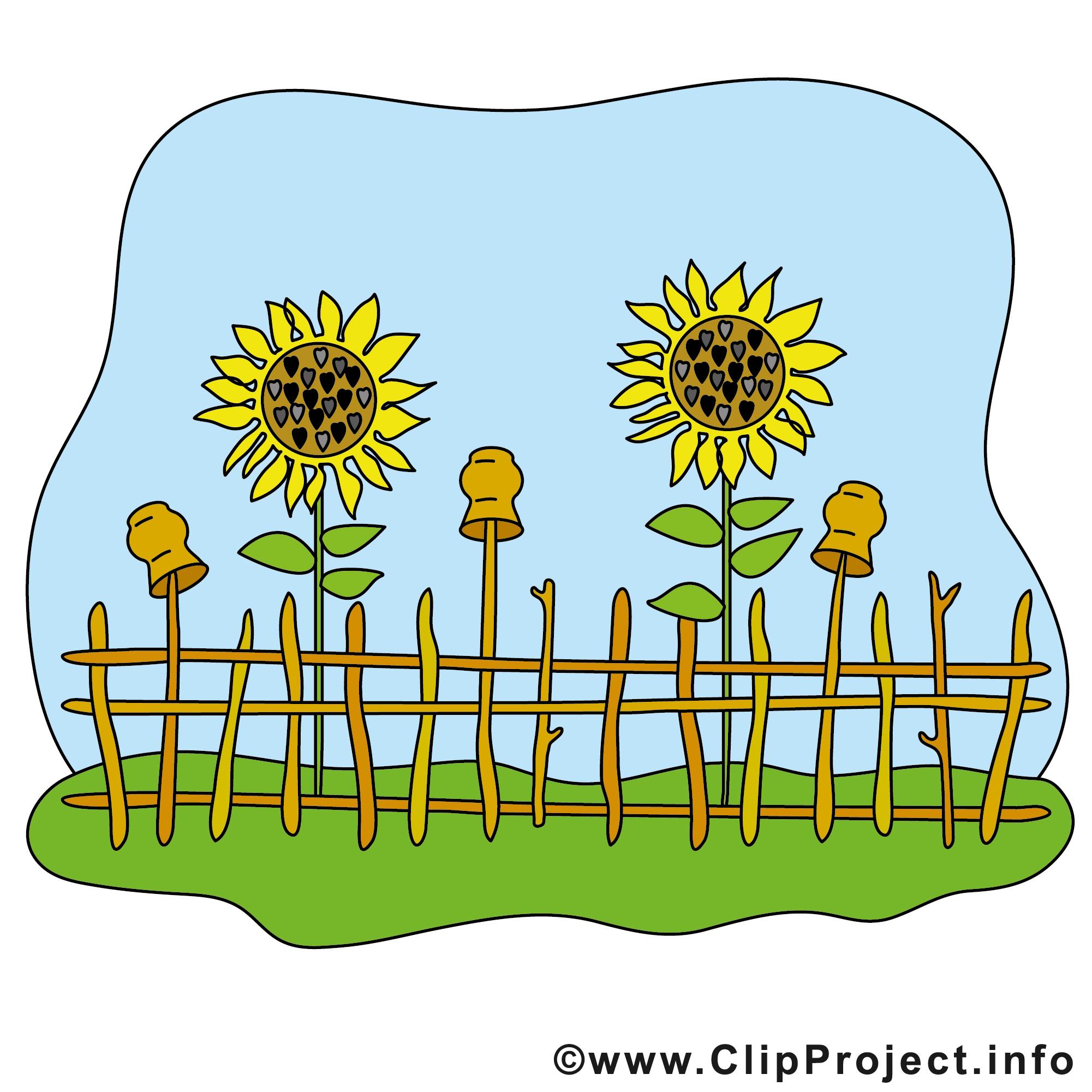 Garten Clipart Bild kostenlos.