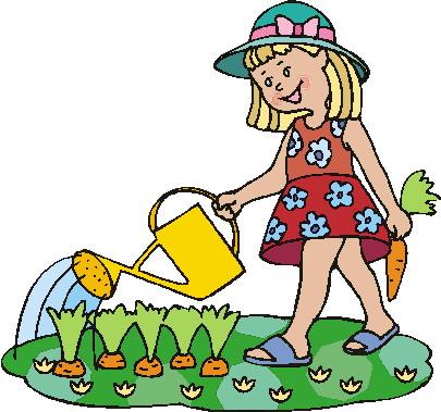 Garten gießen clipart.