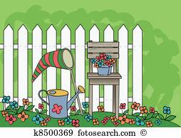 Garden Clipart and Illustration. 154,081 garden clip art vector.