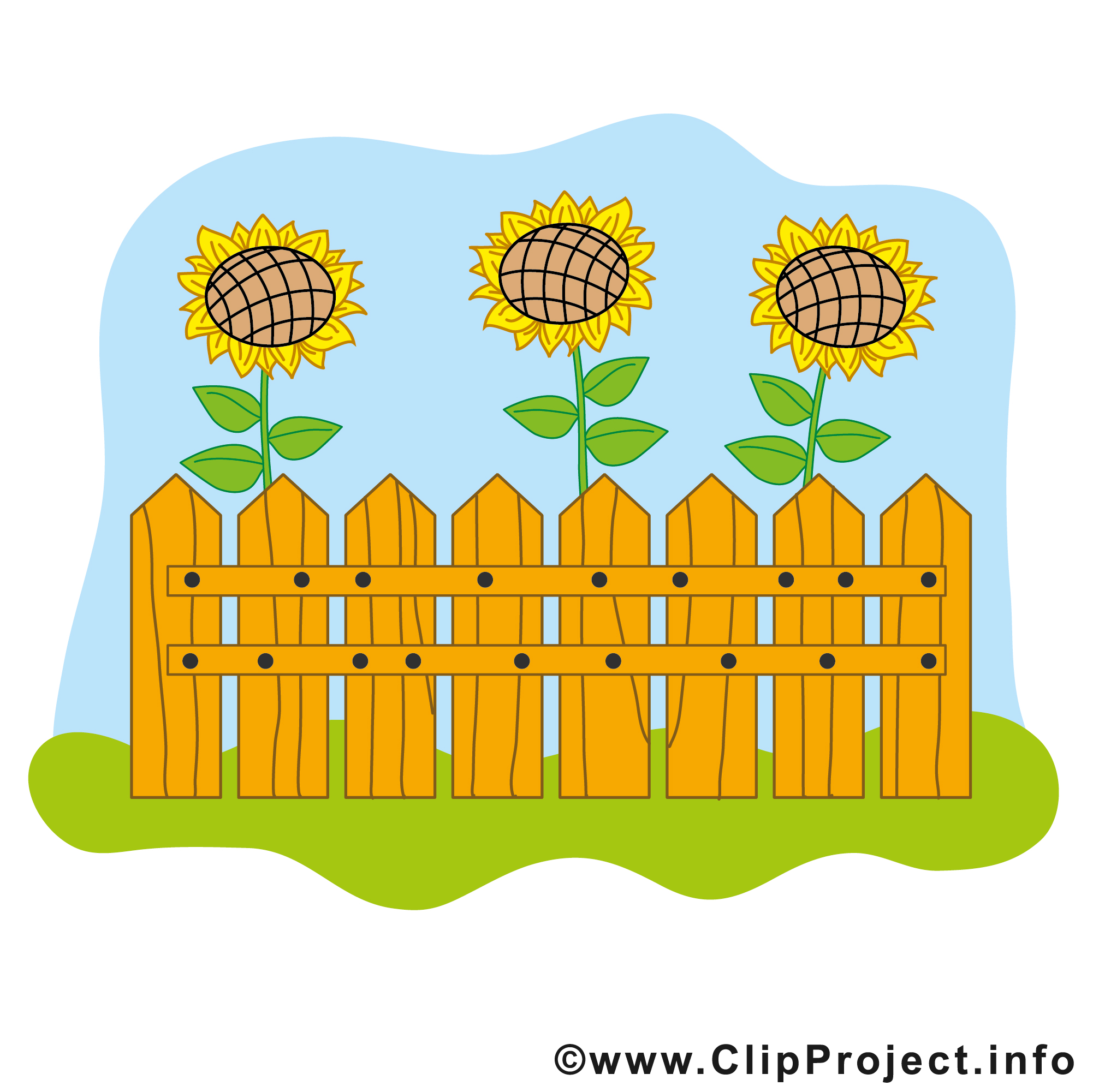 Garten Cartoon Clipart free.