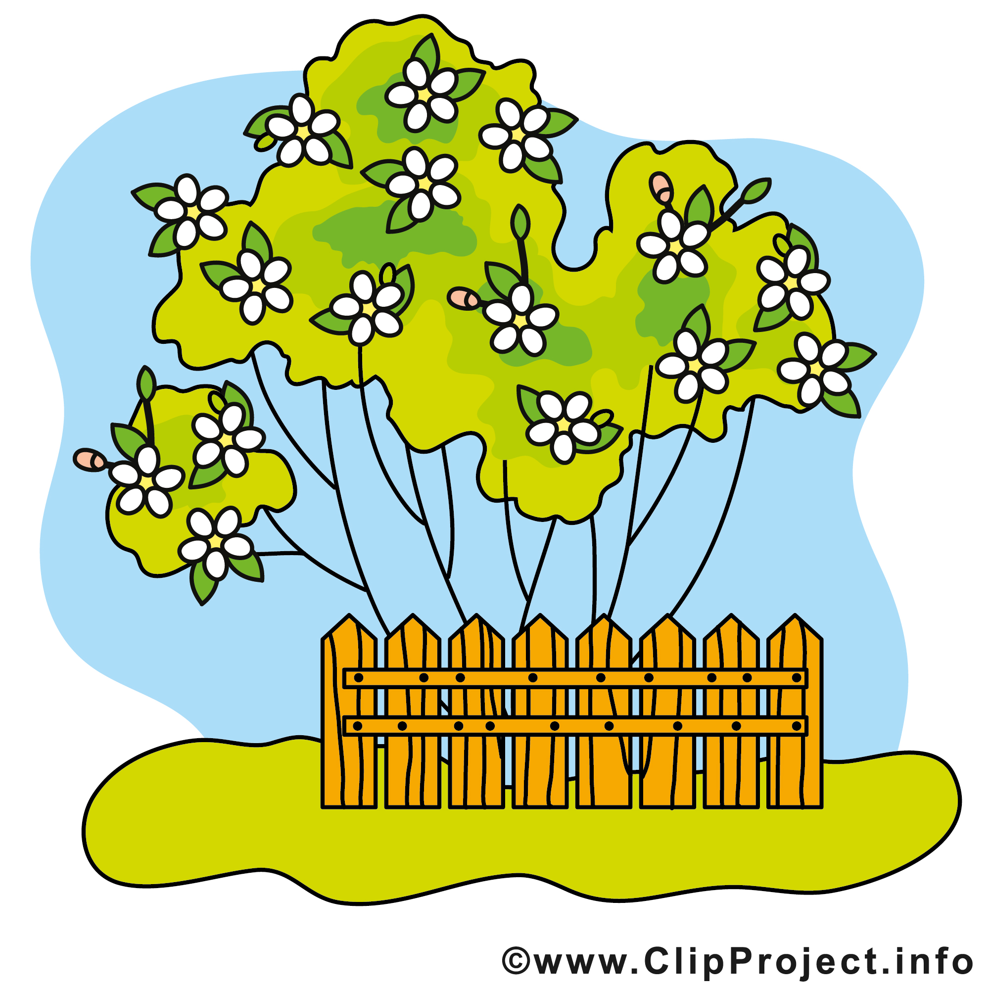 Garten Cliparts kostenlos.