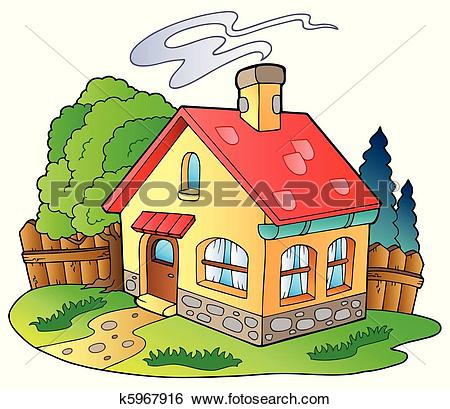 Garden house Clip Art Illustrations. 5,833 garden house clipart.