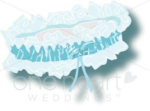 Wedding Garter Clipart.