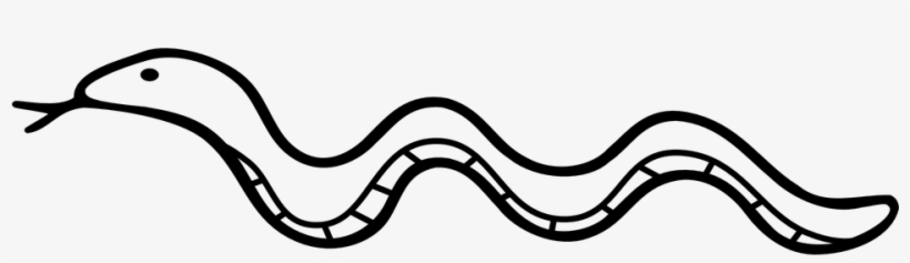 Drawn Serpent Snake Png.