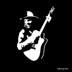 Details about GARTH BROOKS Country Music Singer Decal Window Sticker.