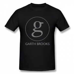 Details about Men\'s Garth Brooks Singer Logo T Shirts Tee.