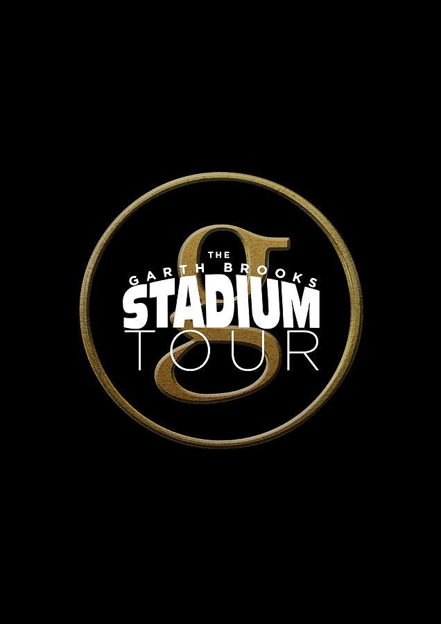 Frame Print Garth Brooks Stadium Tour 2019 Iy04.
