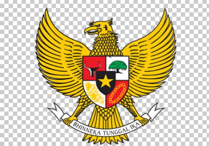 National Emblem Of Indonesia Garuda Indonesia Symbol PNG.