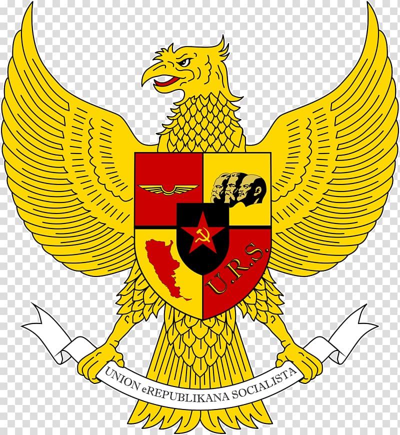 National emblem of Indonesia Pancasila Garuda Symbol, symbol.