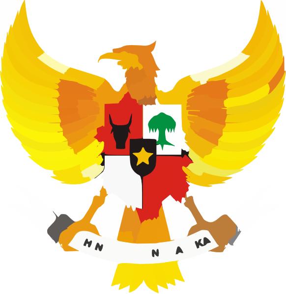 Garuda Pancasila clipart.
