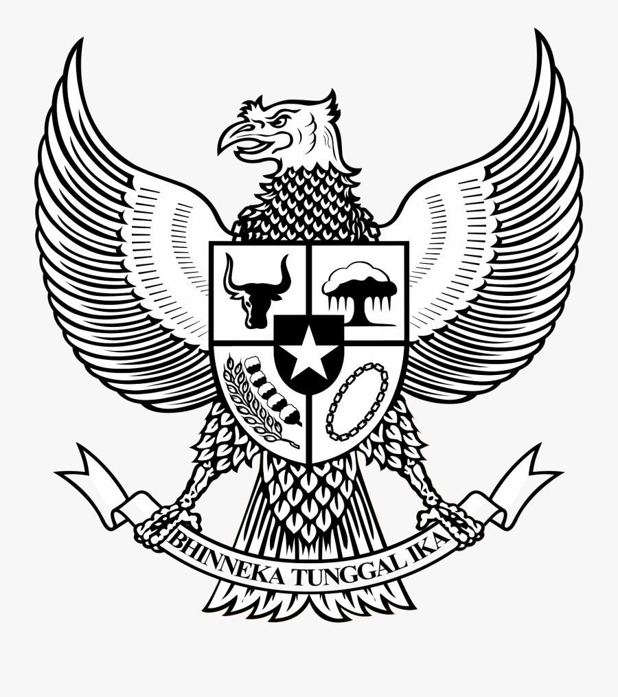 Logo Garuda Pancasila Bw Hitam Putih Pinterest.