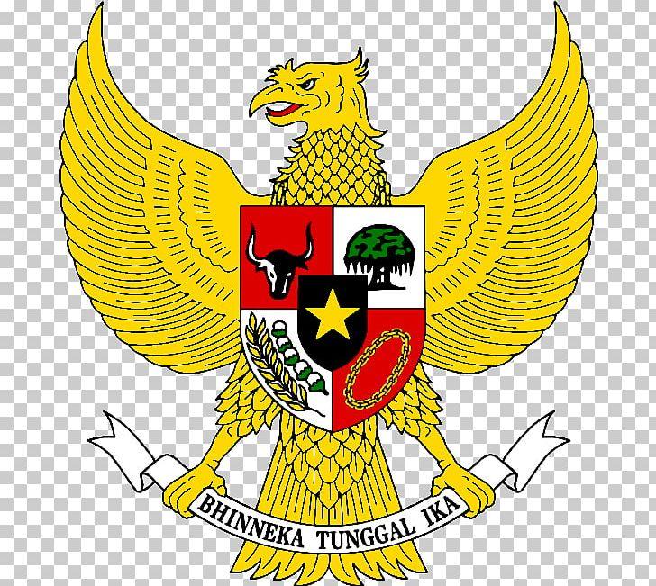 National Emblem Of Indonesia Coat Of Arms Garuda Pancasila PNG.