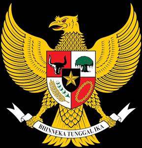 Garuda Pancasila Logo Vector.