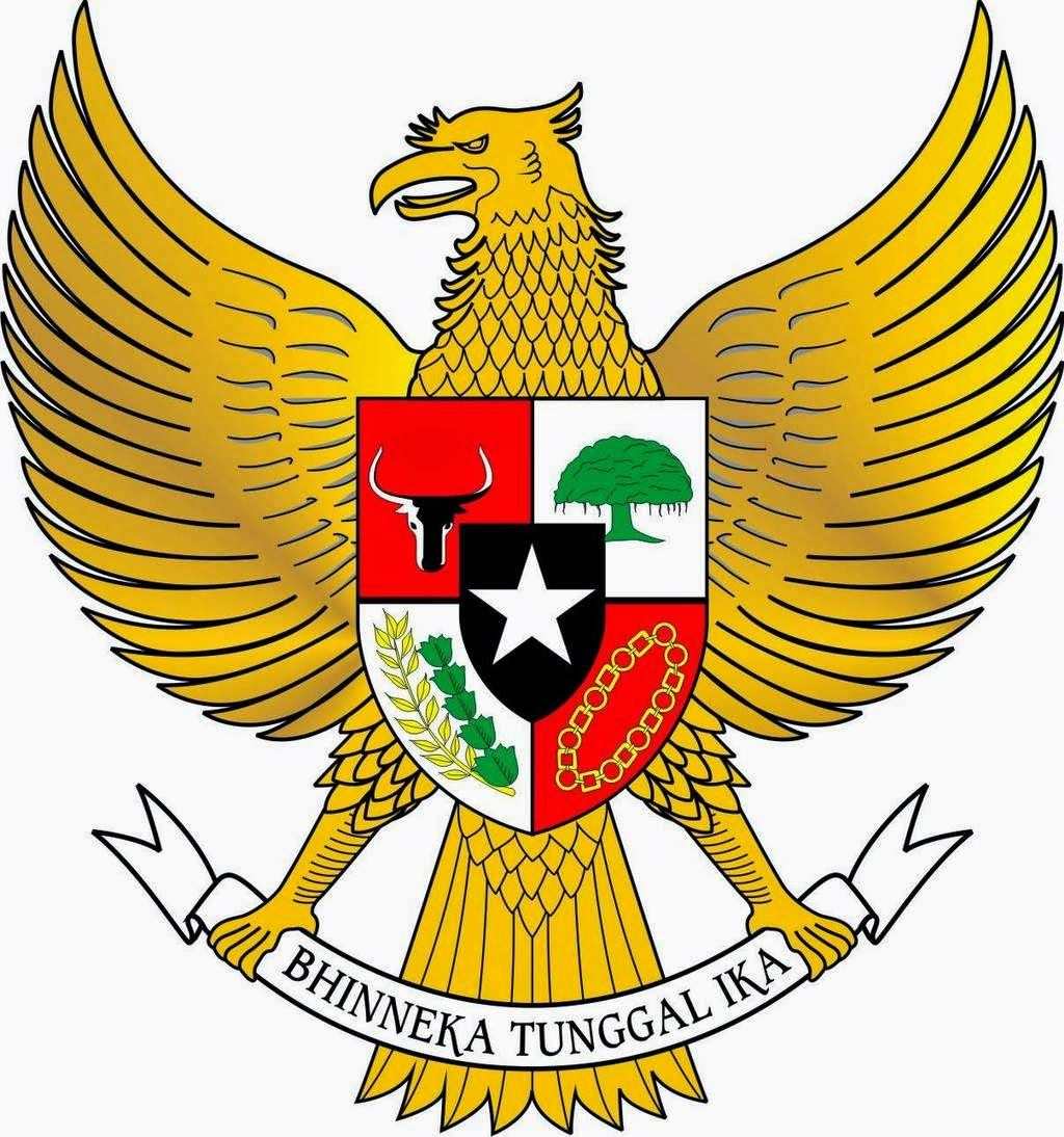 Indonesia #national #emblem #garuda in 2019.