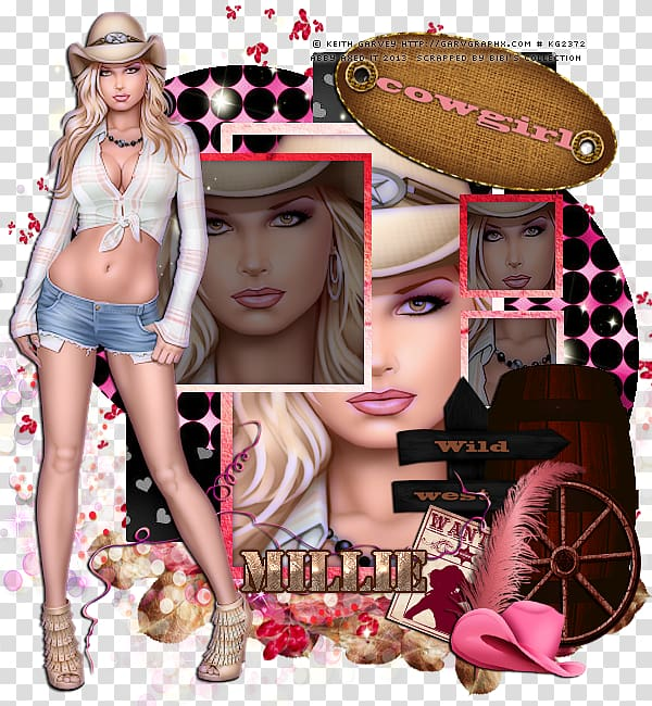 Supermodel fashion model montage Shoe, Sweet Things By Keith.