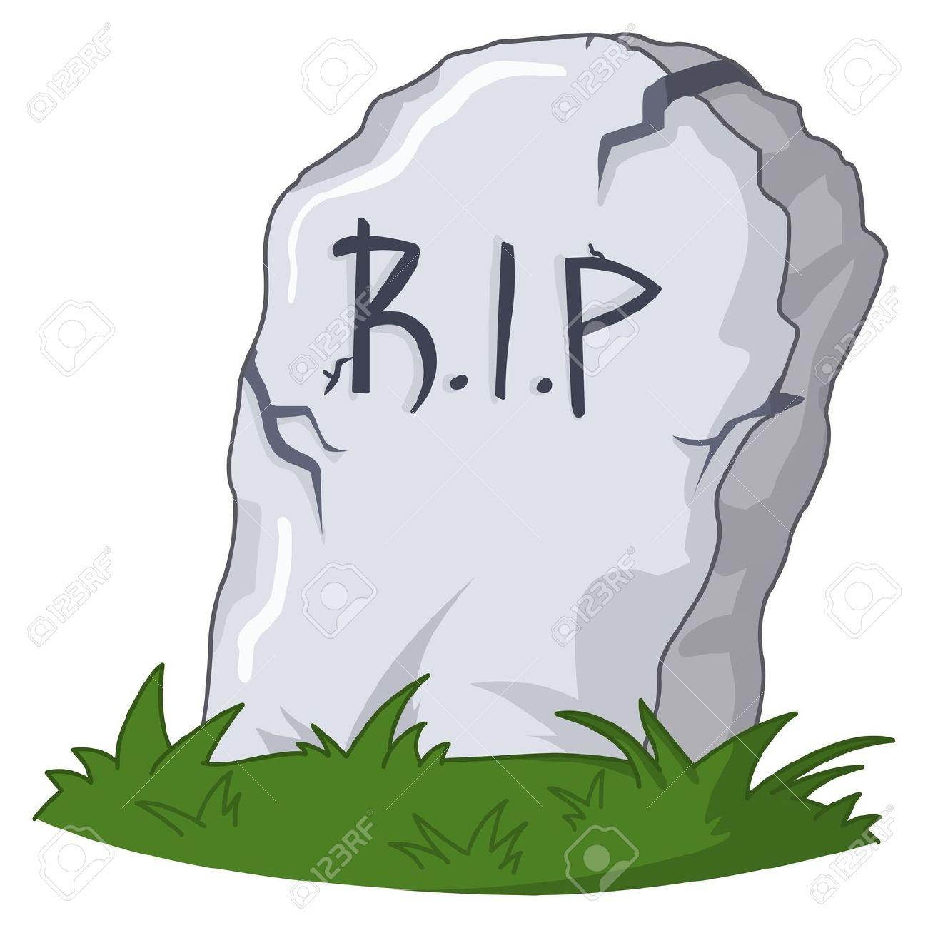 Rip grave clipart.