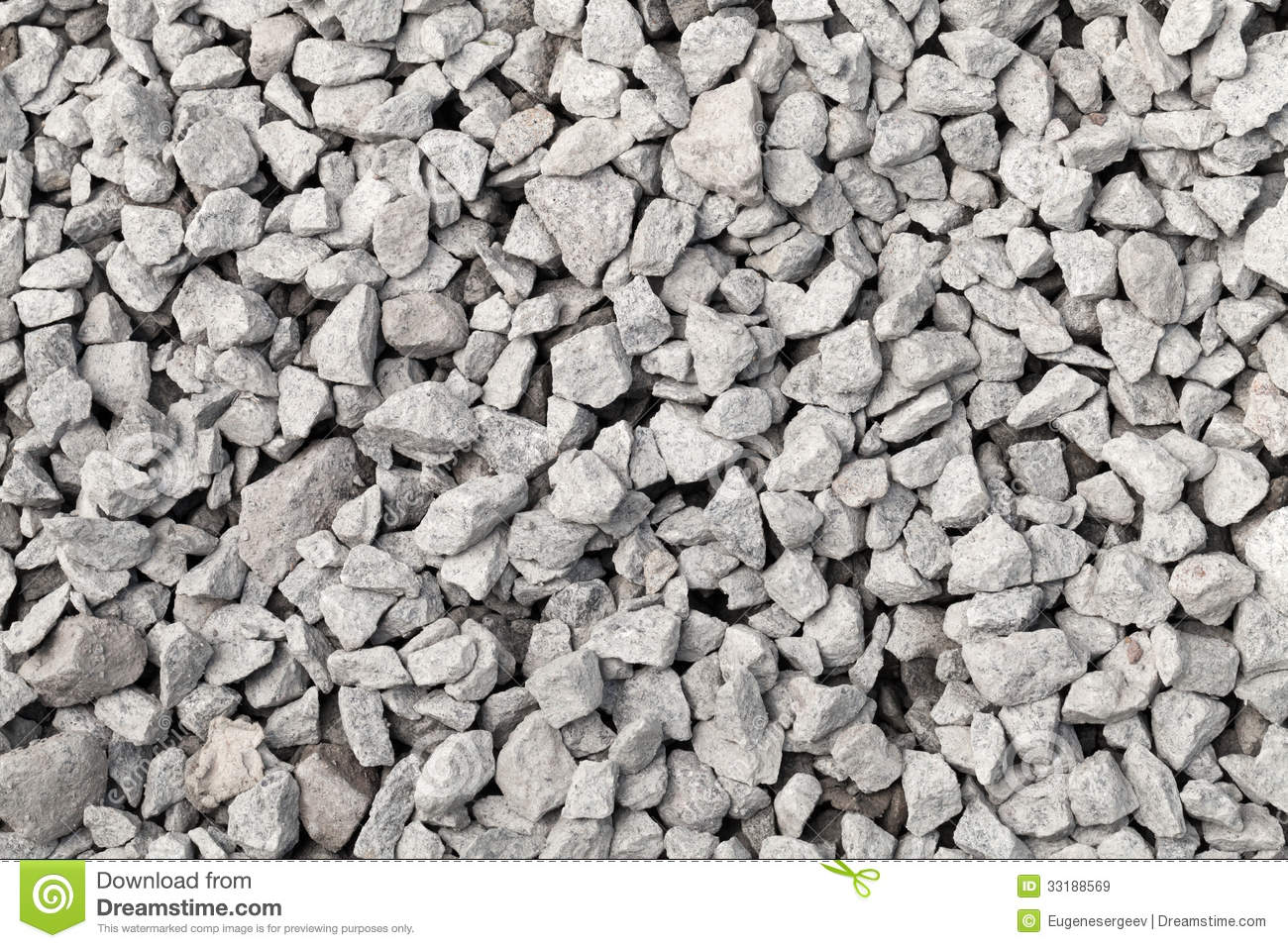 Gray Industrial Gravel Background Royalty Free Stock Images.