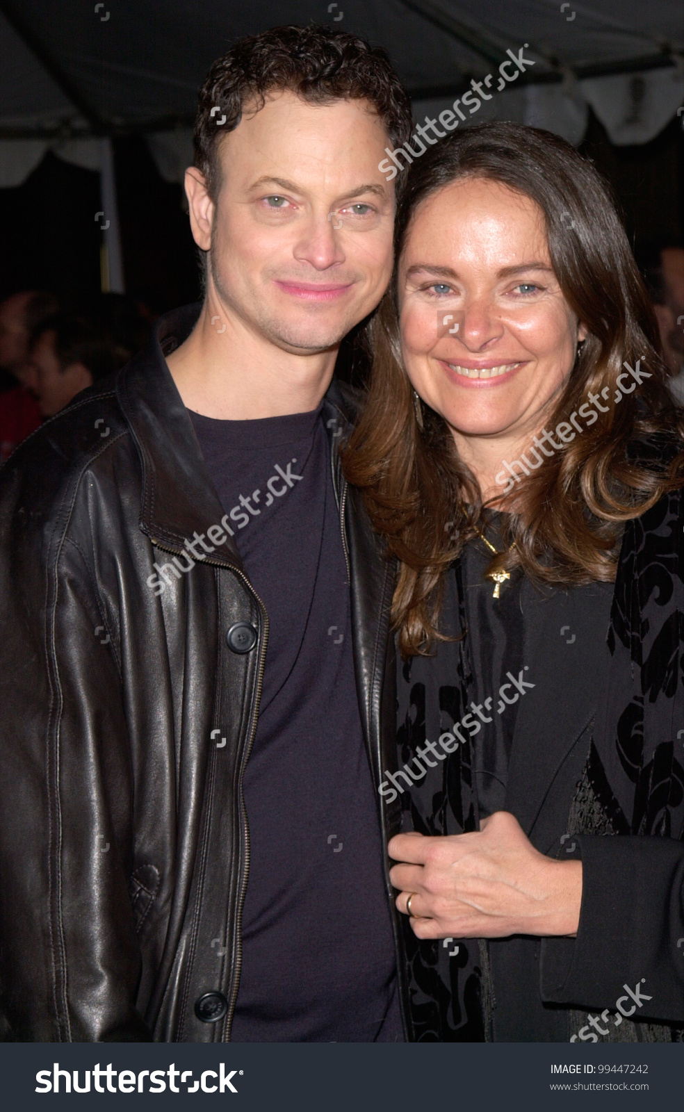 06mar2000 Actor Gary Sinise Actress Wife Stock Photo 99447242.