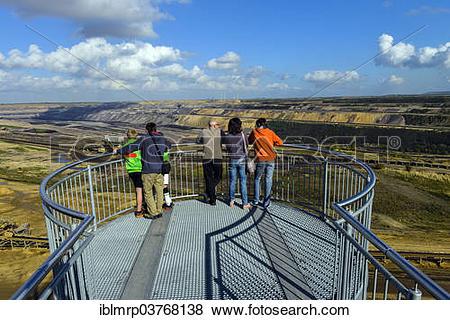"""Pictures of """"Viewing platform, Garzweiler II mining area, open."""