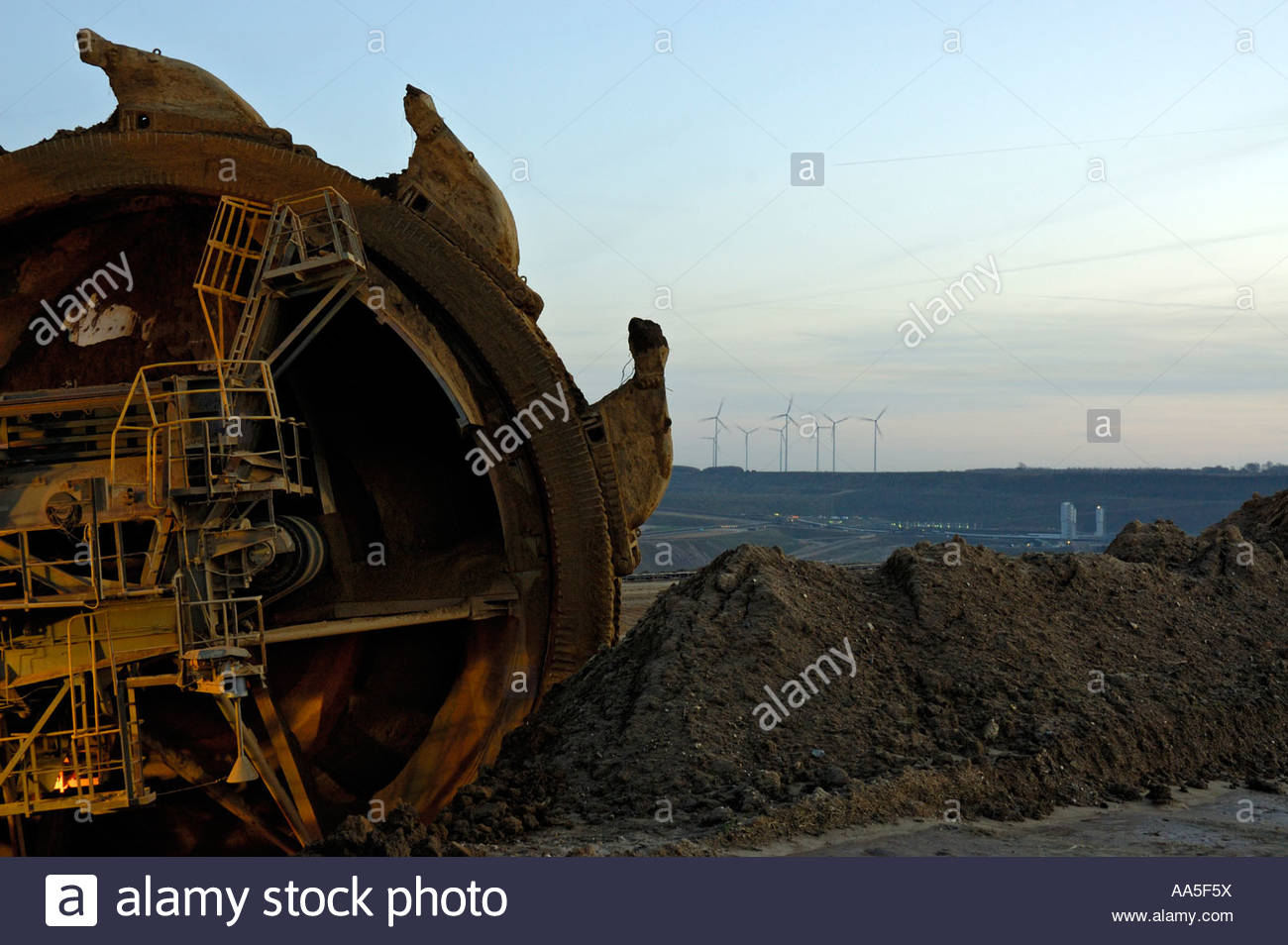 Mining Coal Excavator Rotary Stock Photos & Mining Coal Excavator.