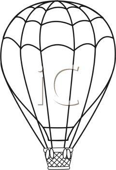 Gas Balloon Clipart.