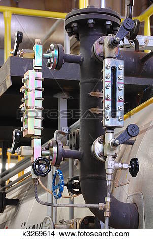Stock Photo of Watermark in the gas boilers k3269614.
