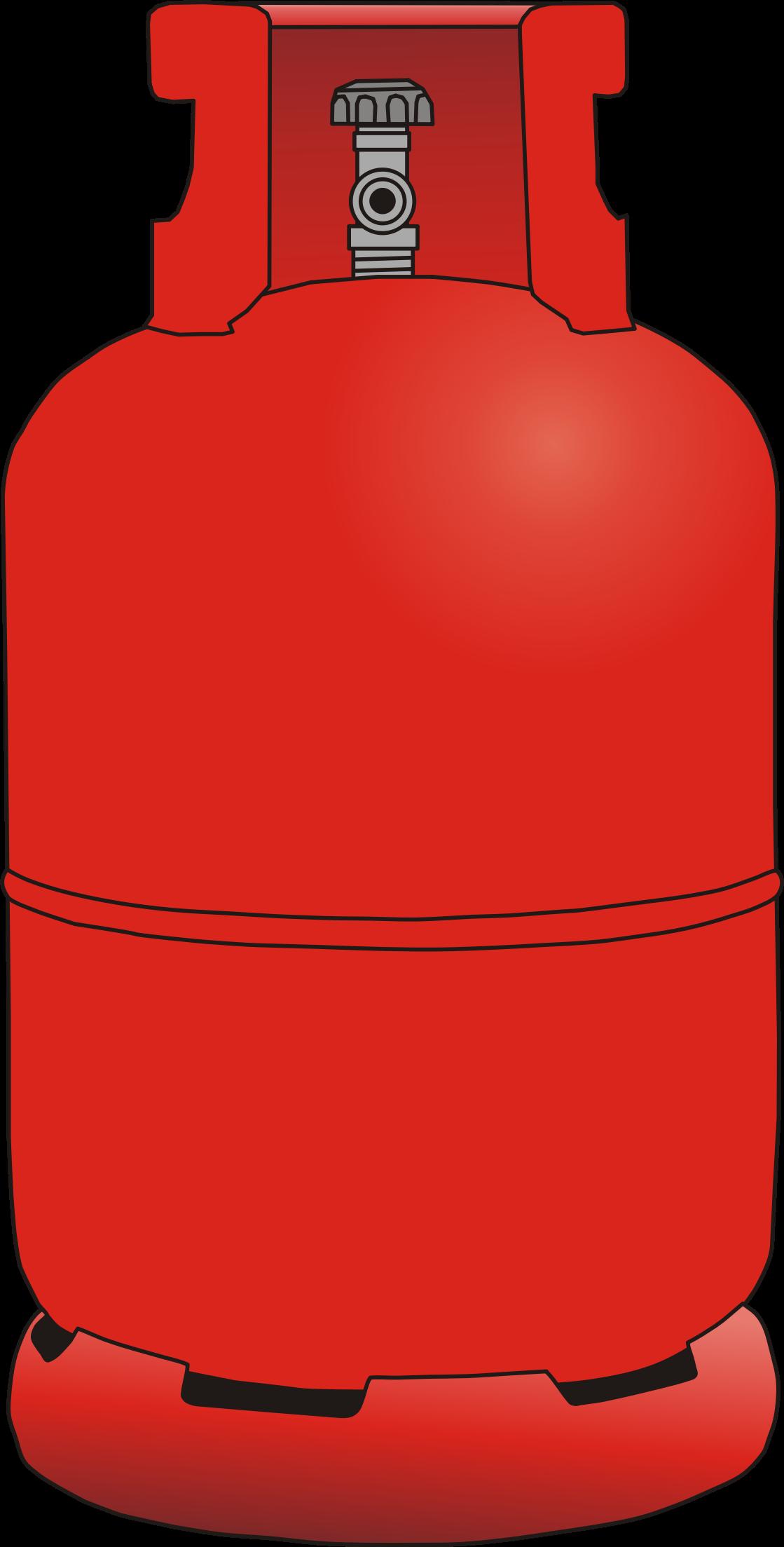 Gas bottle clipart.