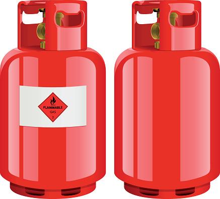 Gas Cylinder Clip Art, Vector Images & Illustrations.
