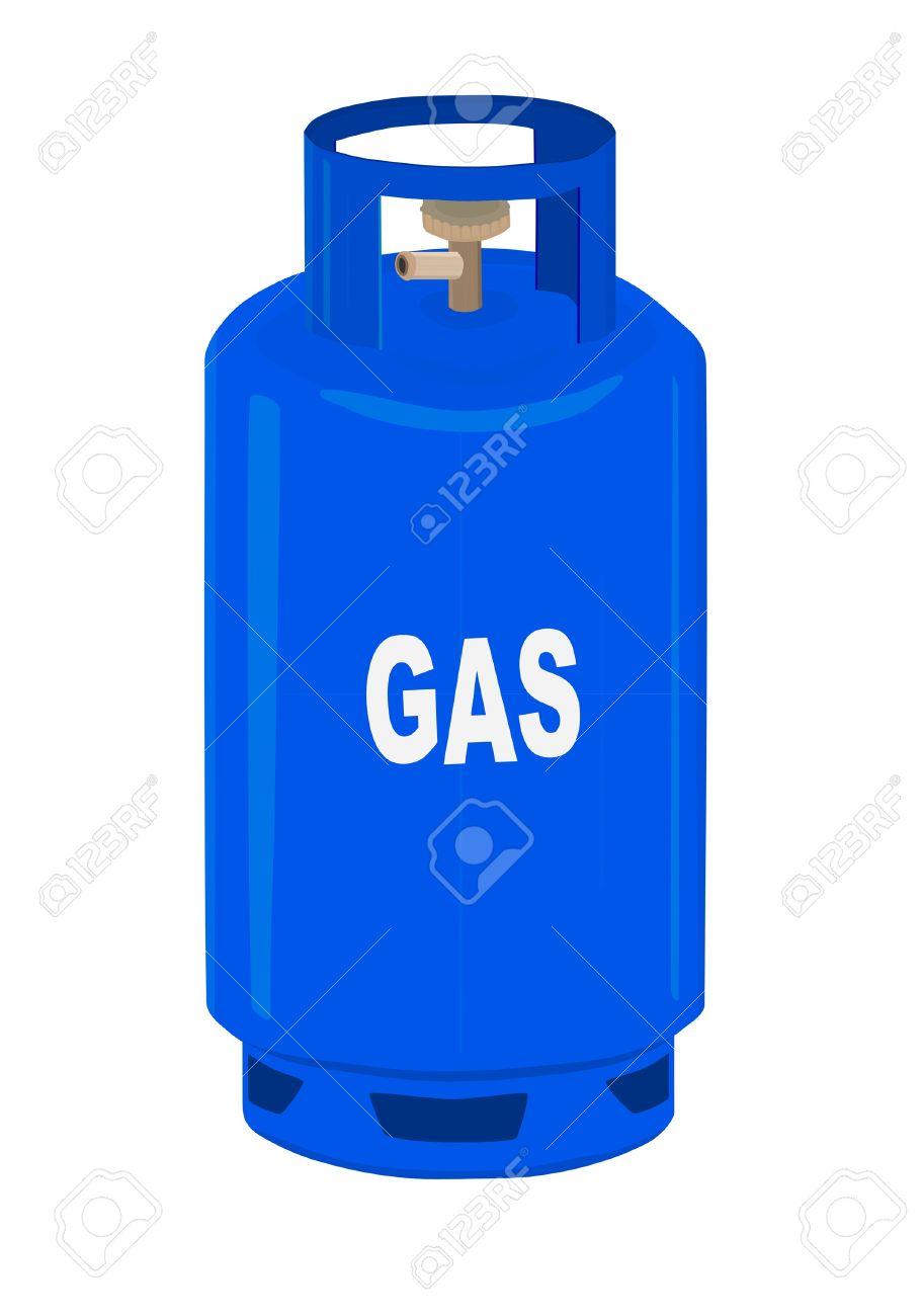 Propane Gas Bottle Clip Art.